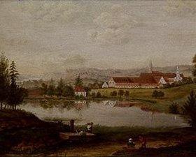 Elias Friedrich Küchlin: Der Buxheimer Weiher mit der Kartause