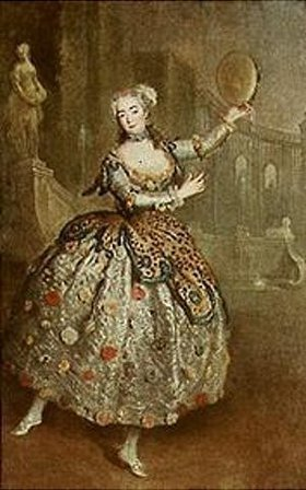 Antoine Pesne: Die Tänzerin Barbarina