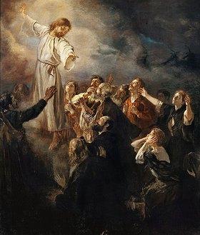 Fritz von Uhde: Die Himmelfahrt Christi