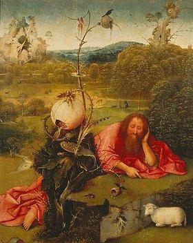 Hieronymus Bosch: Johannes der Täufer in der Wüste