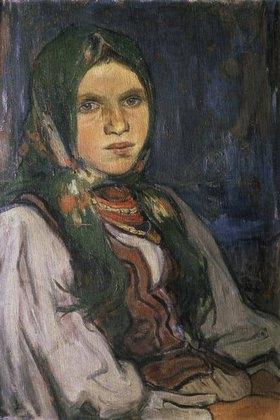 Wladyslaw Slewinski: Landmädchen (Wiejska dziewczyna)