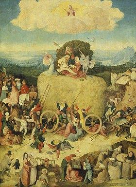Hieronymus Bosch: Triptychon Der Heuwagen. Mitteltafel