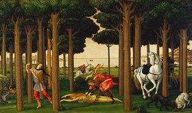 Sandro Botticelli: Die Geschichte des Ritters Nastagio degli Onesti