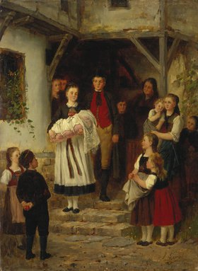 Johann Sperl: Der Täufling