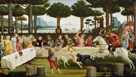 Sandro Botticelli: Die Geschichte des Ritters Nastagio degli Onesti. Dritte Episode