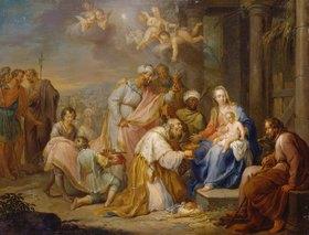 Franz Christoph Jannek: Die Anbetung der Könige