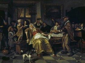 Jan Steen: Das Bohnenfest