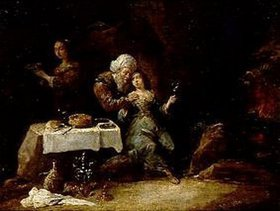 David Teniers: Lot und seine Töchter