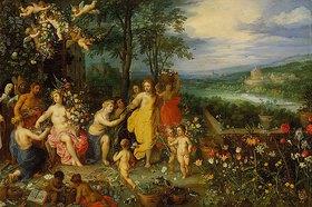 Jan Brueghel d.Ä.: Frühlings-Allegorie. 1616. (Zusammen mit Hendrick van Balen)