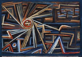 Paul Klee: Strahlung und Rotation