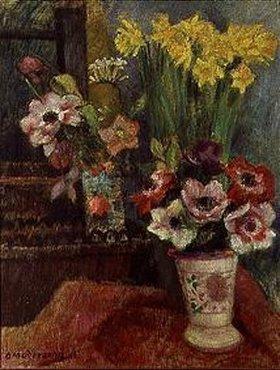 Otto Modersohn: Blumenstilleben