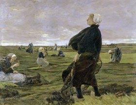 Max Liebermann: Die Netzflickerinnen
