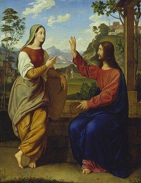 Ary Scheffer: Christus und die Samariterin am Brunnen