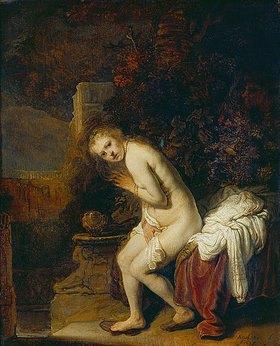 Rembrandt van Rijn: Susanna im Bade