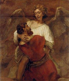 Rembrandt van Rijn: Jakob ringt mit dem Engel