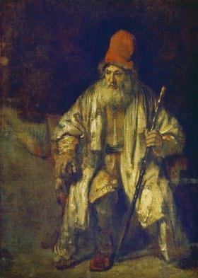 Rembrandt van Rijn: Der Alte mit der roten Mütze. (o.J.)