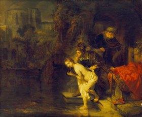 Rembrandt van Rijn: Susanna und die beiden Alten
