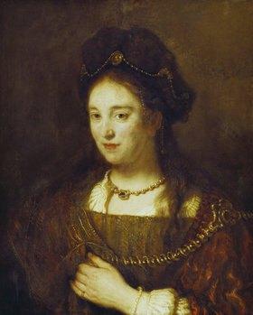 Rembrandt van Rijn: Rembrandts Gattin Saskia