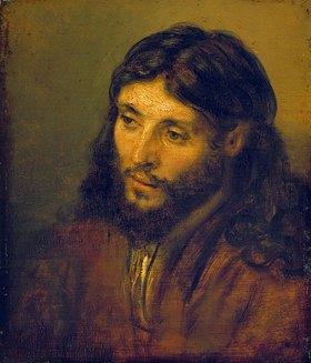 Rembrandt van Rijn: Christuskopf