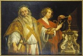 Jacob Jordaens: Der hl.Augustin im Priestergewand