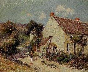 Gustave Loiseau: Landschaft in Seine et Oise