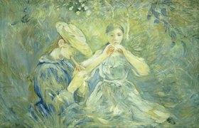 Berthe Morisot: Das Flötenkonzert im Garten