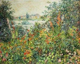 Claude Monet: Sommerblüten bei Vetheuil