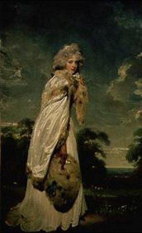 Sir Thomas Lawrence: Bildnis der Elizabeth Farren