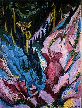 Ernst Ludwig Kirchner: Blick ins Tobel
