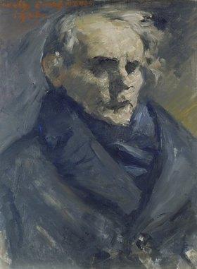 Lovis Corinth: Bildnis des Malers Bernt Grönvold