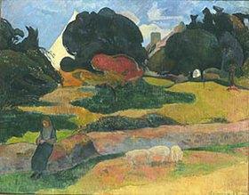 Paul Gauguin: Die Parkwärterin