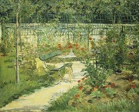 Edouard Manet: Bank im Blumengarten