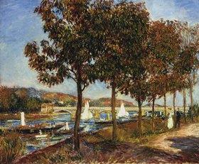 Auguste Renoir: Herbst an der Brücke von Argenteuil