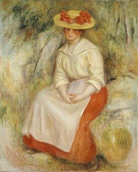 Auguste Renoir: Gabrielle mit einem Strohhut