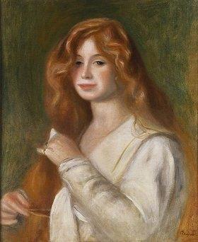 Auguste Renoir: Junge Frau beim Kämmen ihres Haares