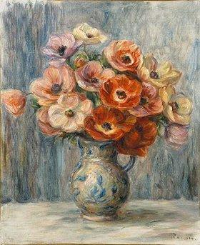 Auguste Renoir: Blumenstrauß in Keramikkrug