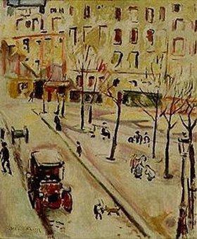 Emile Othon Friesz: Pariser Strassenszene