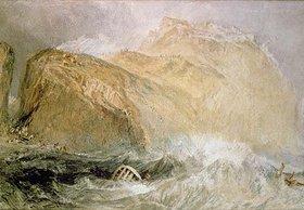 Joseph Mallord William Turner: Das Tintagel Castle, Cornwall
