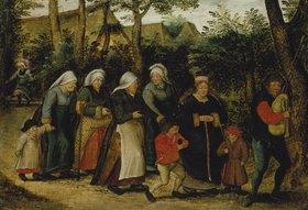 Pieter Brueghel d.J.: Der Brautzug