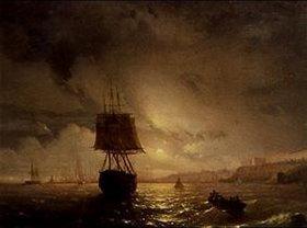 Iwan Konstantinovich Aiwassowskij: Im Hafen von Odessa