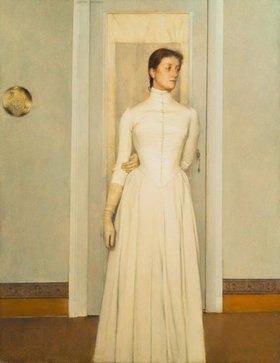 Fernand Khnopff: Marguerite, die Schwester des Künstlers