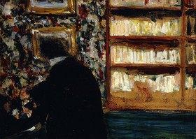 Edouard Vuillard: Monsieur Natanson in seiner Bibliothek (Monsieur Natanson dans sa Bibliotheque)