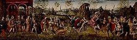 Baldassare Peruzzi: Der Raub der Sabinerinnen