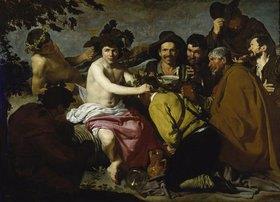 Diego Rodriguez de Velazquez: Die Trinker (Der Triumph des Bacchus/ Los Borrachos)