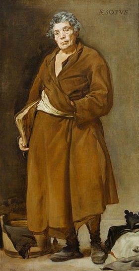 Diego Rodriguez de Velazquez: Der Philosoph Äsop