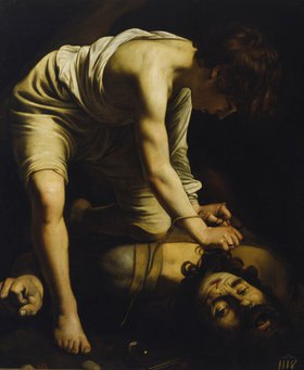 Caravaggio: David besiegt Goliath