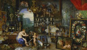 Jan Brueghel d.Ä.: Allegorie des Sehens. (Ausgeführt mit Peter Paul Rubens)