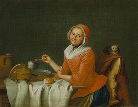 Peter Jakob Horemans: Die Suppen-Esserin
