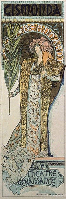 Alfons Mucha: Gismonda, das erste Plakat von Mucha für Sarah Bernhard und das Théatre de la Renaissance