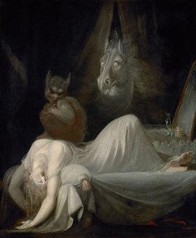 Johann Heinrich Füssli: Der Nachtmahr